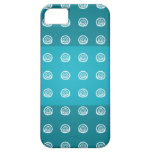 Blue circle pattern 3 tripes Iphone 5s cases Case For iPhone 5/5S