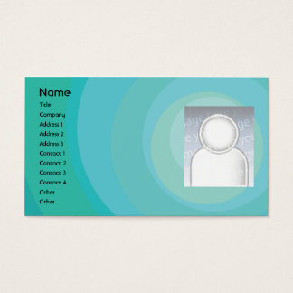 Blue Circle Shades - Business Business Card