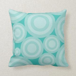 Blue Circles  American MOJO Pillow