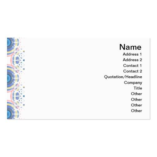 Blue Circles Business Card