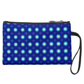 Blue Circles Cosmetic Bag