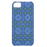 Blue Circles Dots Pattern iPhone 5C Cover