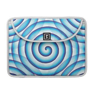 Blue Circles MacBook Pro Sleeve