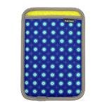 Blue Circles Rickshaw iPad Mini sleeve
