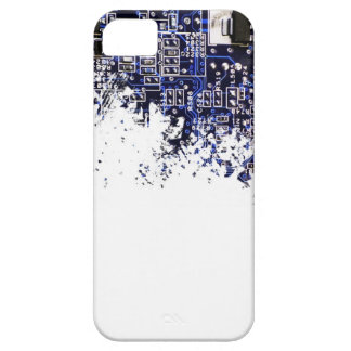 Blue circuit board iPhone 5 covers