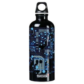 Blue Circuit Board SIGG Traveler 0.6L Water Bottle