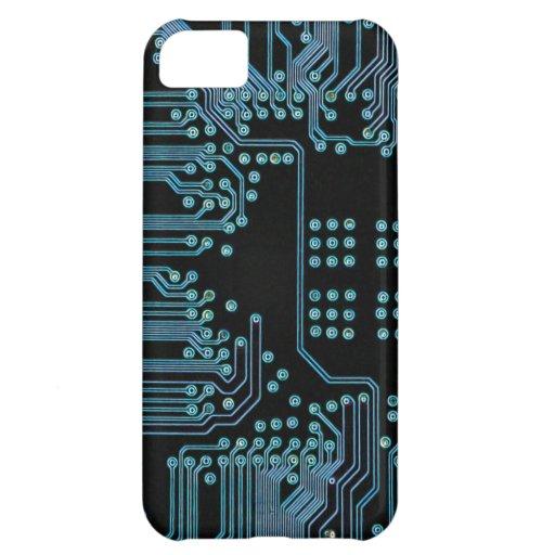 Blue Circuit iPhone 5C Case