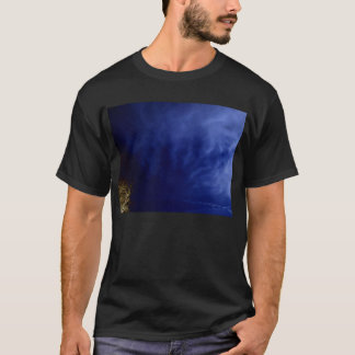 Blue Cirrus radiatus and Electric Branches by KLM T-Shirt