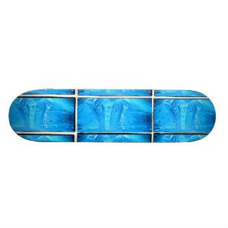 BLUE CITY CREW SKATE BOARD DECK