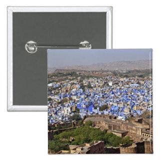 Blue City viewed from Mehrangarh Fort / Jodhpur, Button