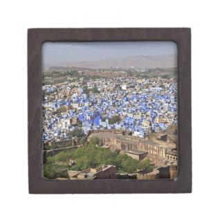 Blue City viewed from Mehrangarh Fort / Jodhpur, Keepsake Box