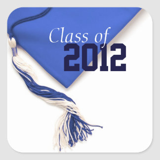 Blue Class of 2012 Sticker