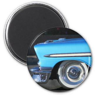 Blue Classic Car magnet