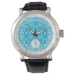 Blue Classical patterns Watch
