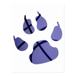 Blue Claw Postcard