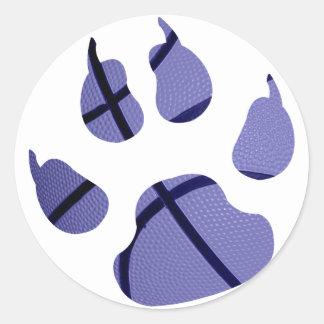 Blue Claw Sticker