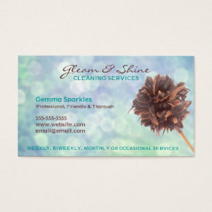 Cleaning services business cards templates zazzle blue cleaning services business cards colourmoves