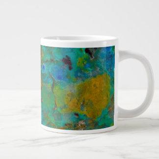 Blue Cliff Chrysocolla Giant Coffee Mug