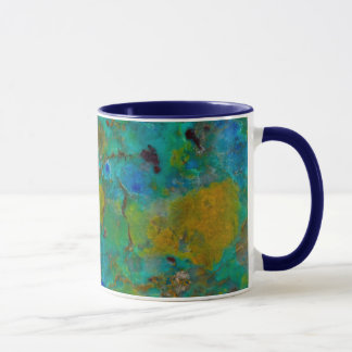 Blue Cliff Chrysocolla Mug