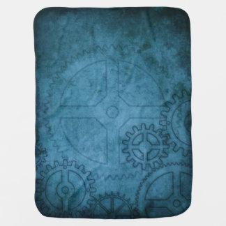 Blue Clockworks Swaddle Blankets