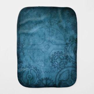Blue Clockworks Burp Cloths