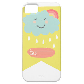 Blue Cloud - Relaxed - Gift iPhone SE/5/5s Case
