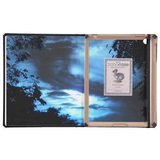 Blue Clouded Sunrise Dodo Folio iPad Case
