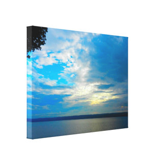 BLUE CLOUDY SKY canvas