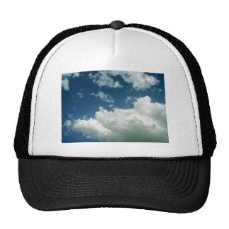 Blue Cloudy Sky Trucker Hat