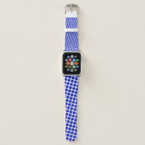 Blue Clover Ribbon by Kenneth Yoncich Apple Watch Band