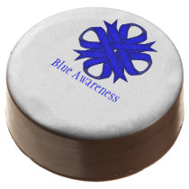 Blue Clover Ribbon by Kenneth Yoncich Chocolate Dipped Oreo