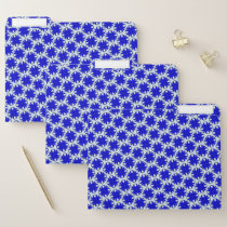 Blue Clover Ribbon by Kenneth Yoncich File Folder