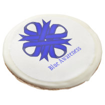 Blue Clover Ribbon by Kenneth Yoncich Sugar Cookie