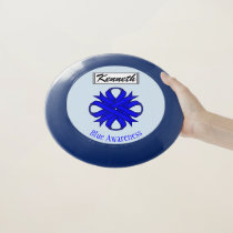 Blue Clover Ribbon by Kenneth Yoncich Wham-O Frisbee