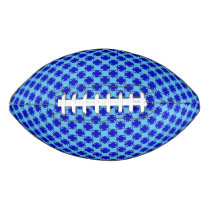 Blue Clover Ribbon Football