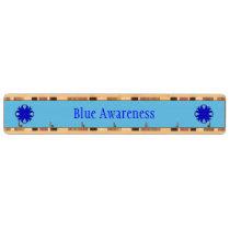 Blue Clover Ribbon Key Holder