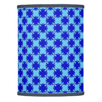 Blue Clover Ribbon Lamp Shade