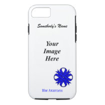 Blue Clover Ribbon Tmpl by Kenneth Yoncich iPhone 8/7 Case