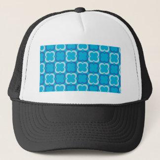 blue clovers trucker hat