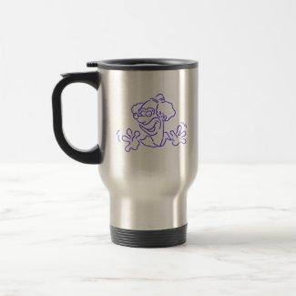 Blue Clown mug
