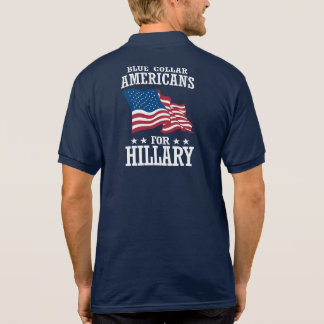 BLUE COLLAR AMERICANS FOR HILLARY POLO
