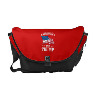 BLUE COLLAR AMERICANS FOR TRUMP MESSENGER BAG