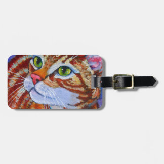 Blue Collar Cat Bag Tag
