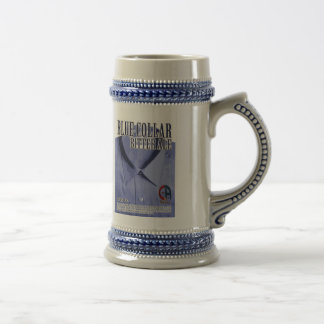 Blue Collar English Bitter Beer Stein