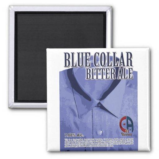 Blue Collar English Bitter Fridge Magnets
