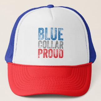 Blue Collar Proud Trucker Hat