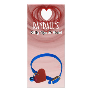 Blue Collar, Red Heart Cat Love Rack Cards