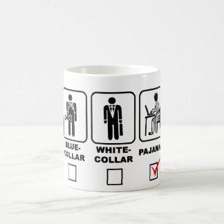 Blue-collar,white-collar or pajamas mug