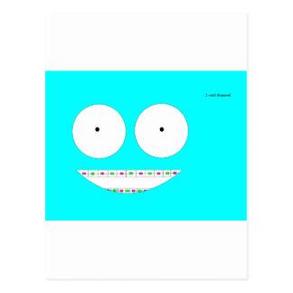 Blue Collection Postcard