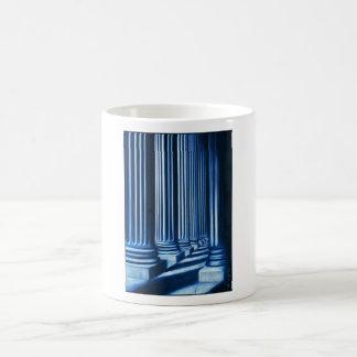 BLUE COLONNADE COFFEE MUG